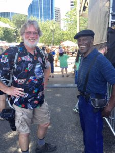 Photographers Paul Brown & Larry Williams at Safeway Waterfront Blues 2015